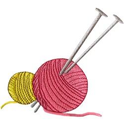 Needles & Yarn embroidery design