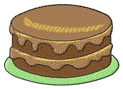 Cake embroidery design