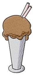 Chocolate Shake embroidery design