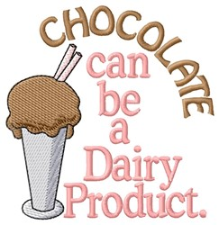 Dairy Product embroidery design