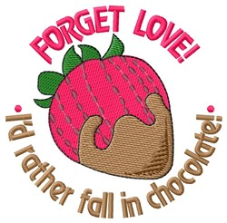 Forget Love embroidery design
