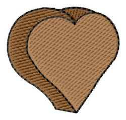 Chocolate Heart embroidery design