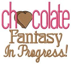 Chocolate Fantasy embroidery design