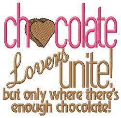 Lovers Unite embroidery design
