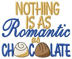 Romantic Chocolate embroidery design