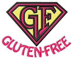 Gluten Free embroidery design