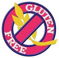 Gluten Free embroidery design