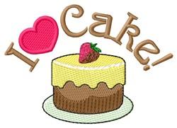 Love Cake embroidery design