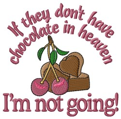 Chocolate Heaven embroidery design