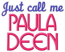 Paula Deen embroidery design