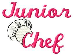 Junior Chef embroidery design
