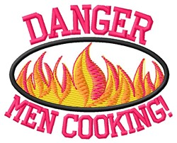 Men Cooking embroidery design