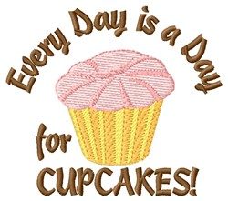 Day For Cupcakes embroidery design