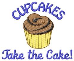 Take Cake embroidery design