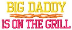 Big Daddy embroidery design
