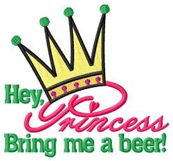 Bring Me Beer embroidery design