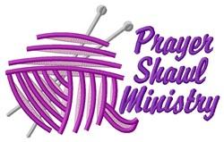 Prayer Shawl embroidery design