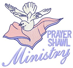 Prayer Shawl Ministry embroidery design