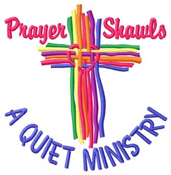 Quiet Ministry embroidery design