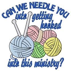 Needle You embroidery design