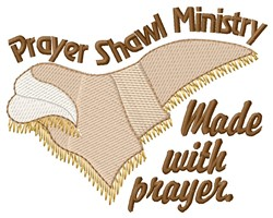 Made With Prayer embroidery design