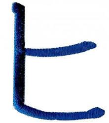 Karate K embroidery design