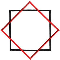 Square and Diamond embroidery design