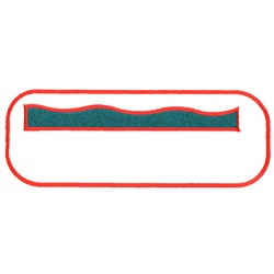 Rectangle embroidery design