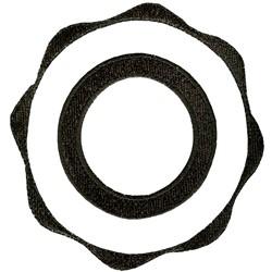 Circle Logo embroidery design