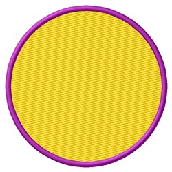 Filled Circle embroidery design