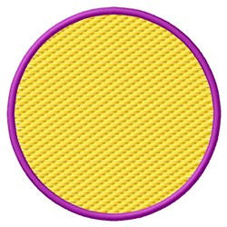 Textured Circle embroidery design