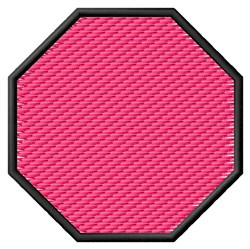 Textured Octagon embroidery design