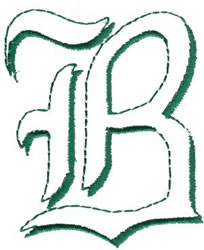 Lord B embroidery design