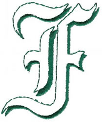 Lord F embroidery design