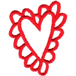 Kids Heart embroidery design