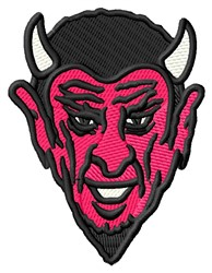 Devil Mascot embroidery design