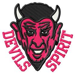 Devils Spirit embroidery design
