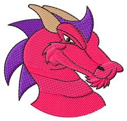 Dragon Head embroidery design