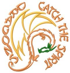 Dragons Spirit embroidery design