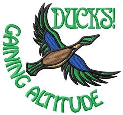 Duck Altitude embroidery design