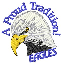 Proud Tradition embroidery design