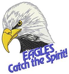 Eagle Spirit embroidery design