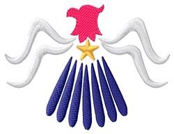 Eagle embroidery design