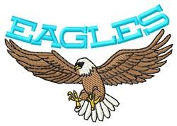 Eagles embroidery design