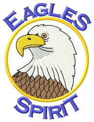 Eagles Spirit embroidery design