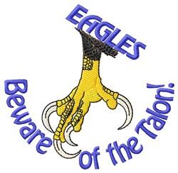 Beware The Talon embroidery design