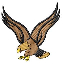 Falcon embroidery design