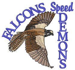 Speed Demons embroidery design