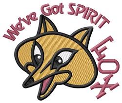 Fox Spirit embroidery design