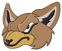 Fox Face embroidery design